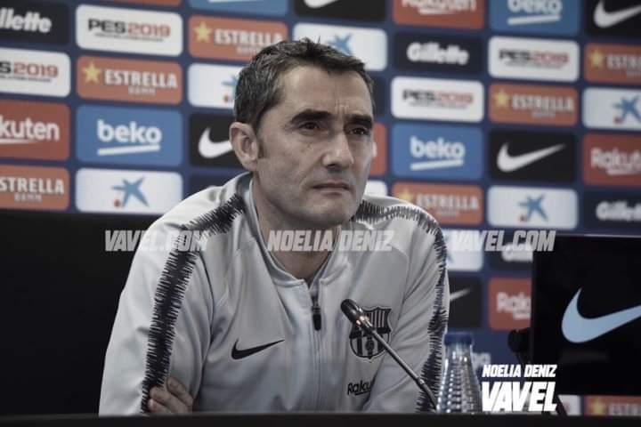 """Ernesto Valverde: """"El equipo se está recuperando"""""""