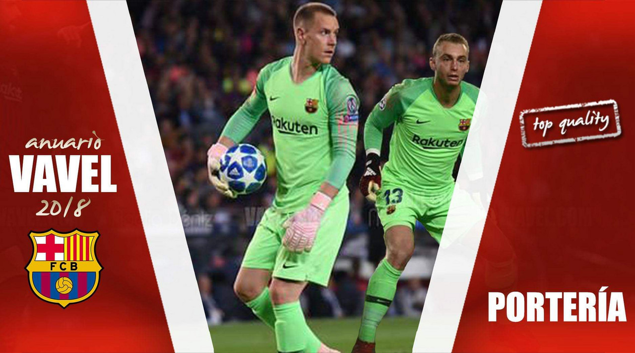 Anuario VAVEL FC Barcelona 2018: la portería, un cerrojo de primer nivel