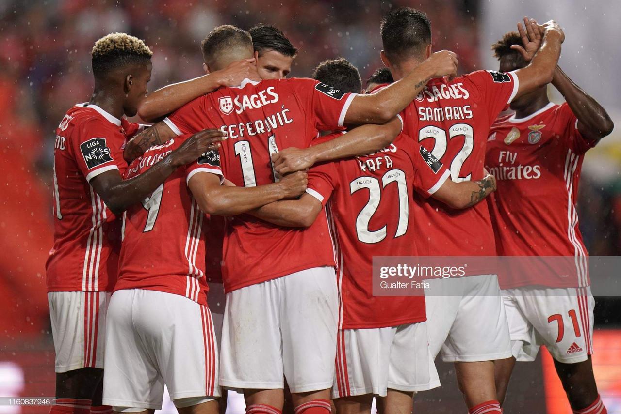 Vitória pesada do Benfica