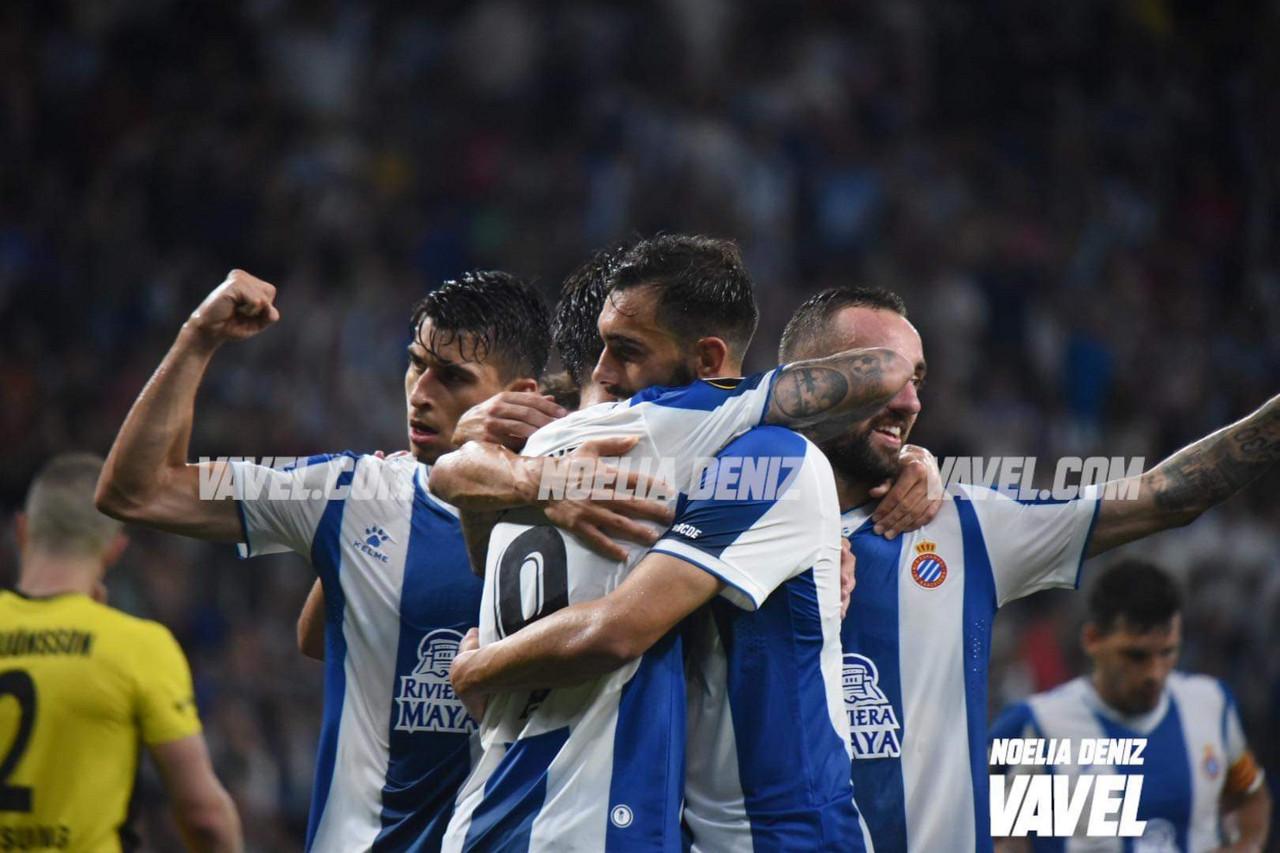 El Espanyol golea al Stjarnan y deja la eliminatoria encarrilada