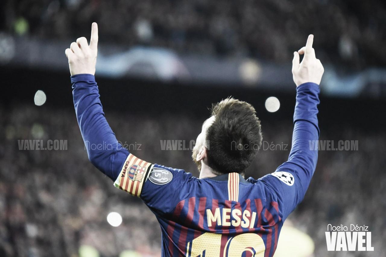 Messi alcanza los 600 goles con el Barça