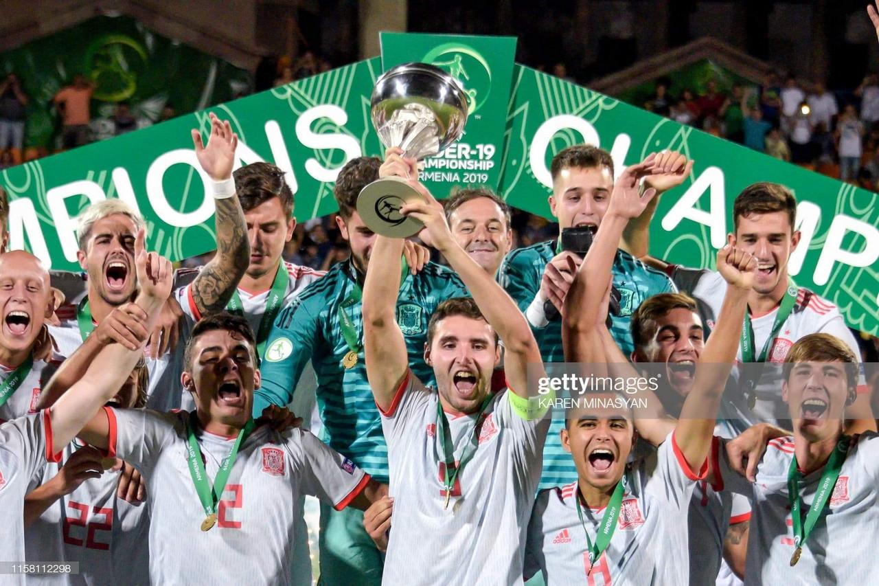 Espanha vence Europeu de Sub 19