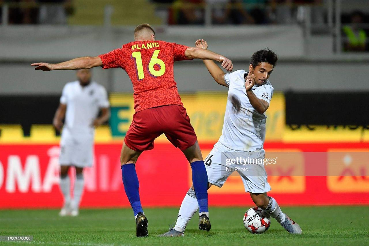 Vitória de Guimarães empata em Bucareste