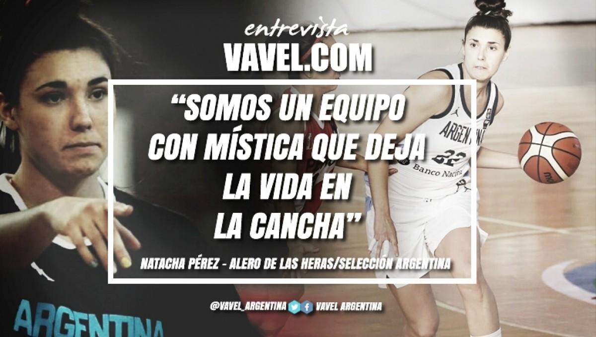 """Entrevista. Natacha Pérez: """"Somos un equipo con mística que deja la vida en la cancha"""""""