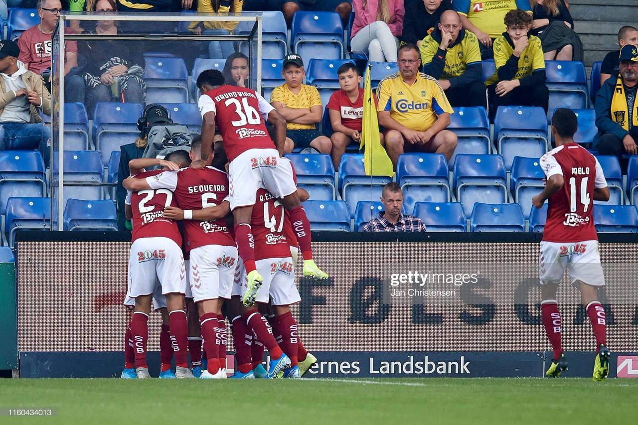 SC Braga em vantagem para a segunda mão
