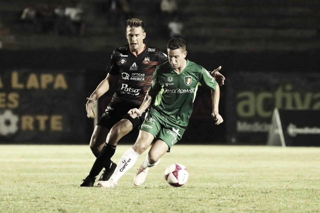 Alebrijes rescata un punto importante en su visita a Mérida