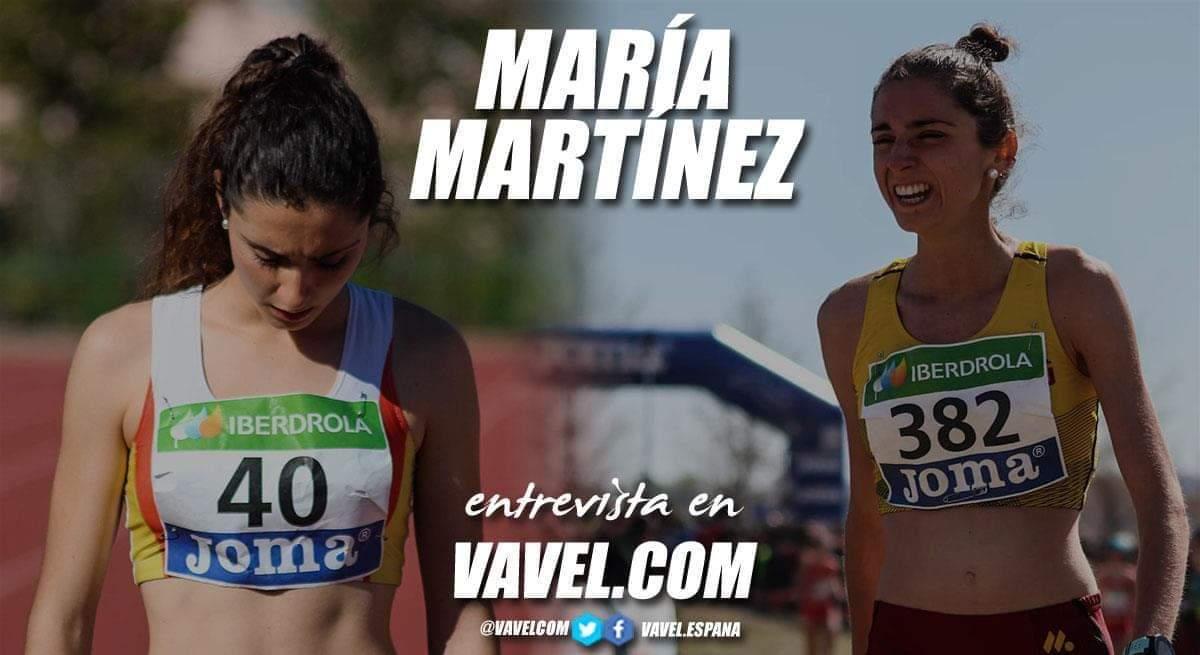 """Entrevista. María Martínez: """"Esta temporada marca un antes y un después en mi carrera deportiva"""""""