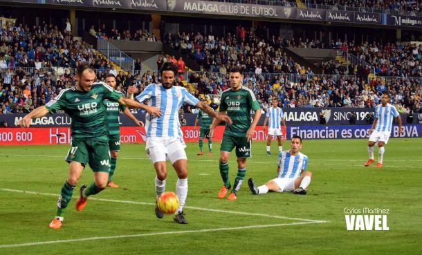 Málaga CF- Real Betis: puntuaciones Real Betis, jornada 11