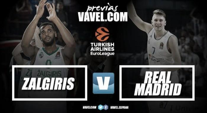 Previa Zalgiris Kaunas- Real Madrid: a por la segunda victoria en una semana