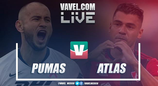 Atlas sorprende a los Pumas