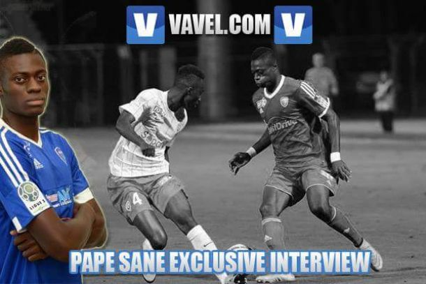 """""""I wanted to improve myself step-by-step"""" Senegal international and Ligue 2 star, Pape Sane, talks to VAVEL"""