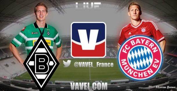 Live FC Bayern vs Borussia Mönchengladabach, le match en direct commenté