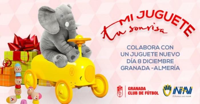 El Granada CF lanza la III campaña solidaria 'Mi juguete, tu sonrisa'