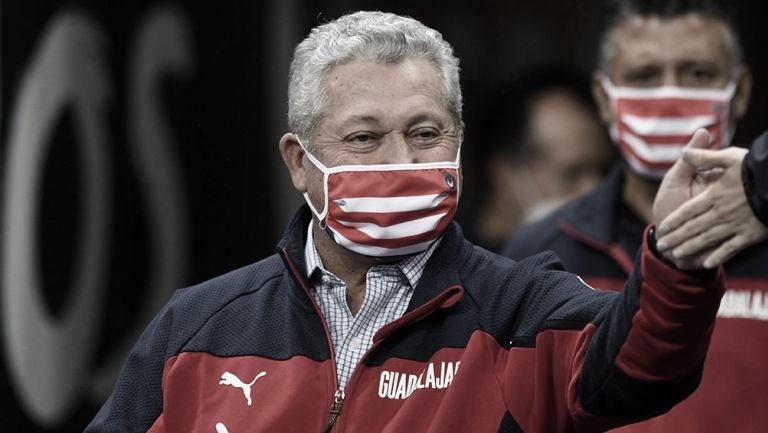 Para Víctor Manuel Vucetich, su continuidad en Chivas no depende de los resultados