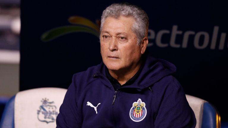 """Víctor Manuel Vucetich: """"Hoy no cometimos errores y sí tuvimos aciertos"""""""