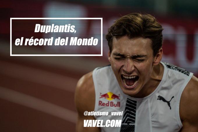 Duplantis, el récord del Mondo