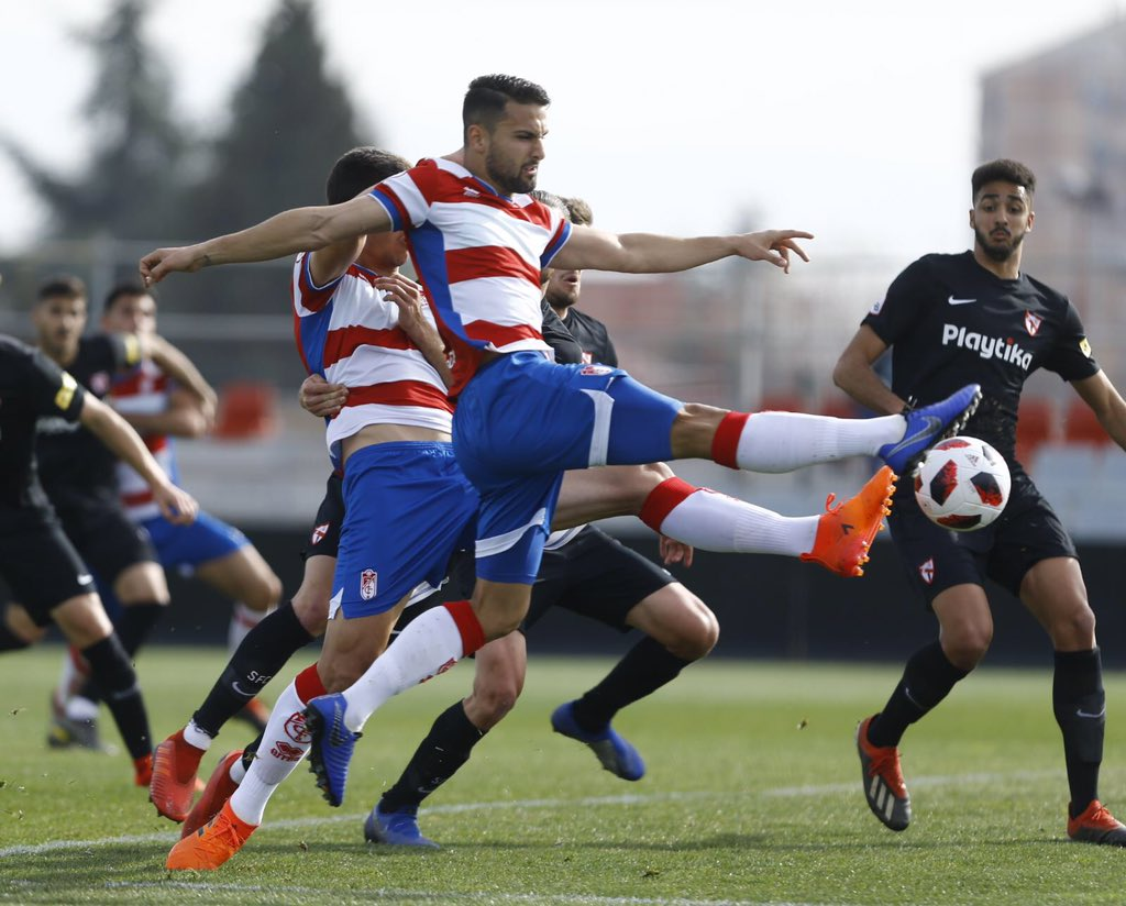 Dolorosa derrota del Recreativo Granada contra el Sevilla Atlético
