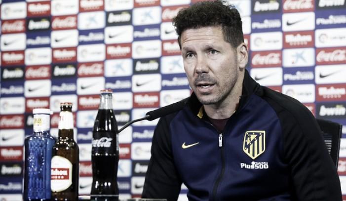 """Simeone: """"El lunes nos sentaremos a hablar de la próxima temporada"""""""