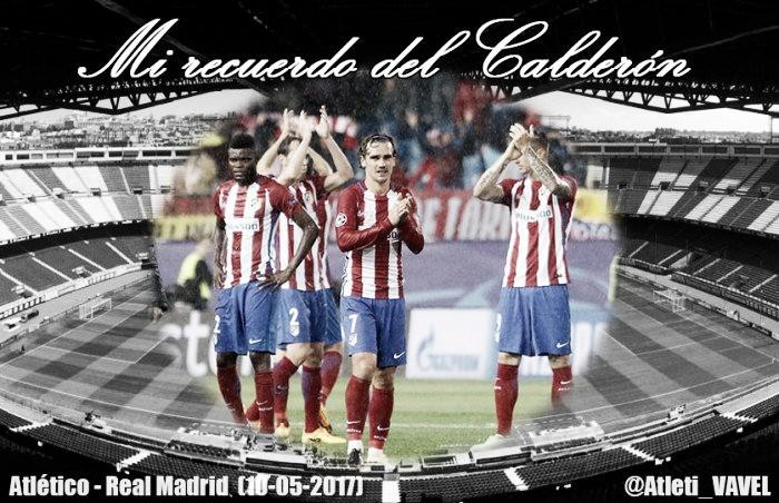 Mi recuerdo del Calderón: la última victoria en un derbi