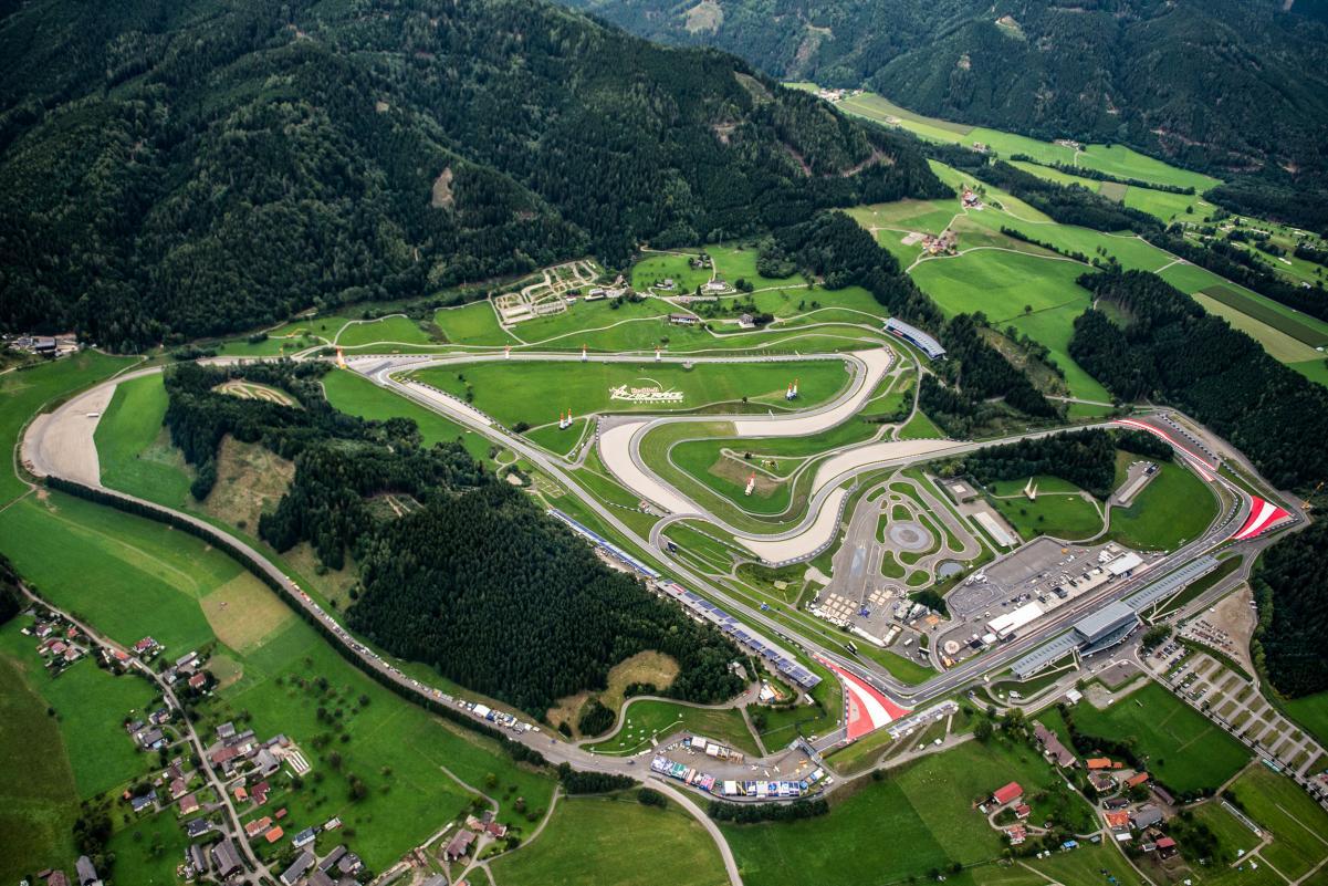 El Gran Premio de Austria vuelve a ser premiado como el Mejor Gran Premio