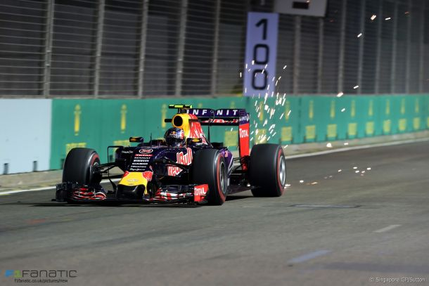 F1 Singapore, Red Bull fa scintille