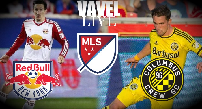 Columbus Crew SC vs New York Red Bulls Live Updates and Commentary of MLS 2016 (1-1)