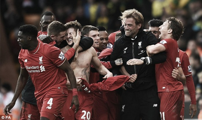 Nobody wants to face Liverpool on our day, insists Jürgen Klopp