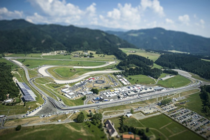 RedBull Ring en Autriche (Source : RedBull)