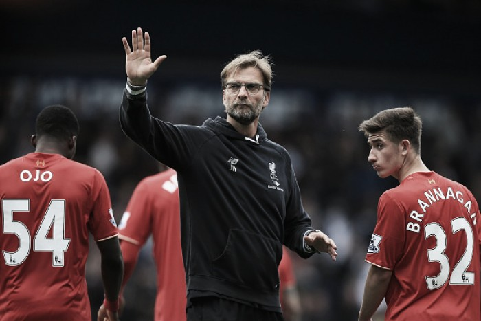 "Jürgen Klopp says his second-string Liverpool side ""made sense"" against West Brom"