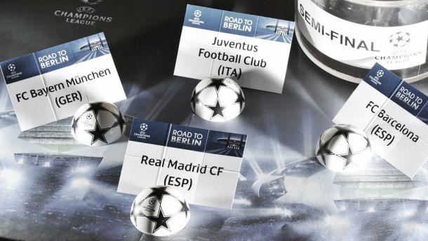 Champions League, sorteggio: la Juve trova il Real, Guardiola sfida il Barcellona