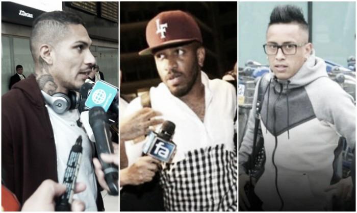 Selección Peruana: Guerrero, Farfán y Cueva ya están concentrados con la 'bicolor'