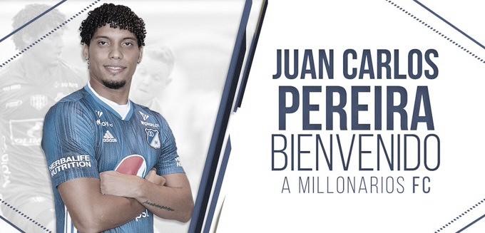 Juan Carlos Pereira: el nuevo 'obrero' de Millonarios