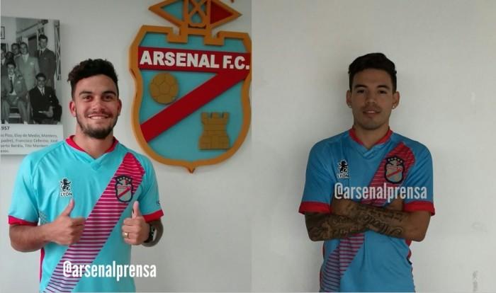 Dos caras nuevas en Arsenal