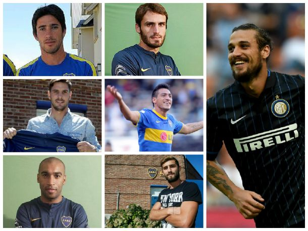 Altas Boca Juniors 2015: nombres que invitan a soñar
