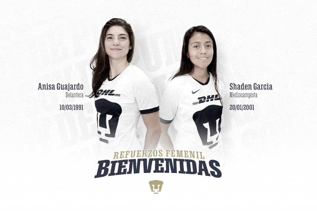 Llegan refuerzos para Pumas Femenil