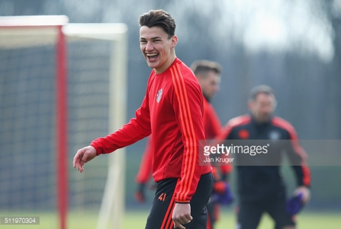 Man Utd's young centre-back Regan Poole targeting loan move for next season