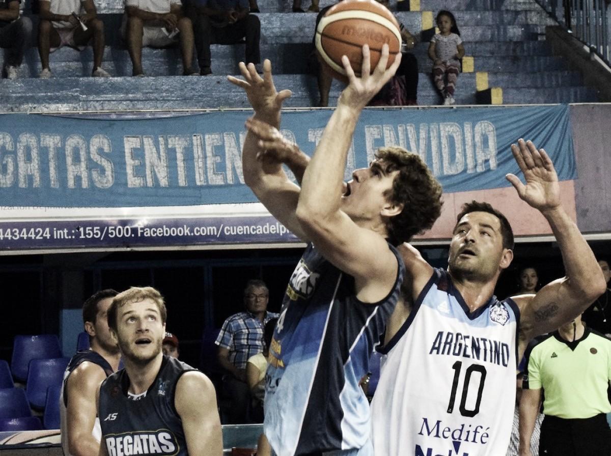 Gran victoria de Regatas sobre Argentino