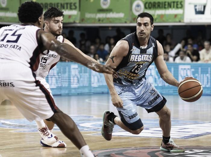 Con Quinteros, Regatas descontó en la serie