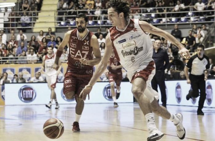 Basket, serie A: Milano-Reggio Emilia per la vetta, Trento sfida Sassari