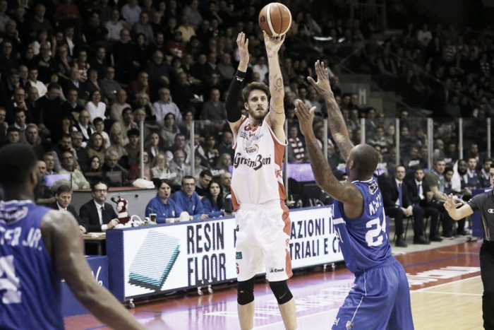 Lega Basket - Reggio Emilia torna alla vittoria contro Brindisi (98-84)