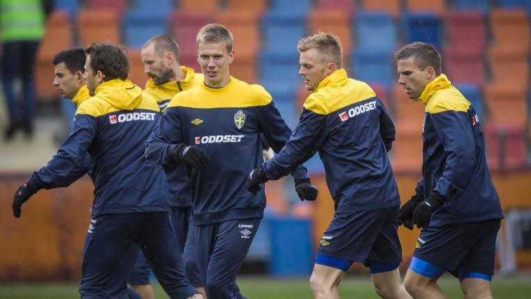 Suecia vuelve a los entrenamientos de cara al amistoso ante Serbia