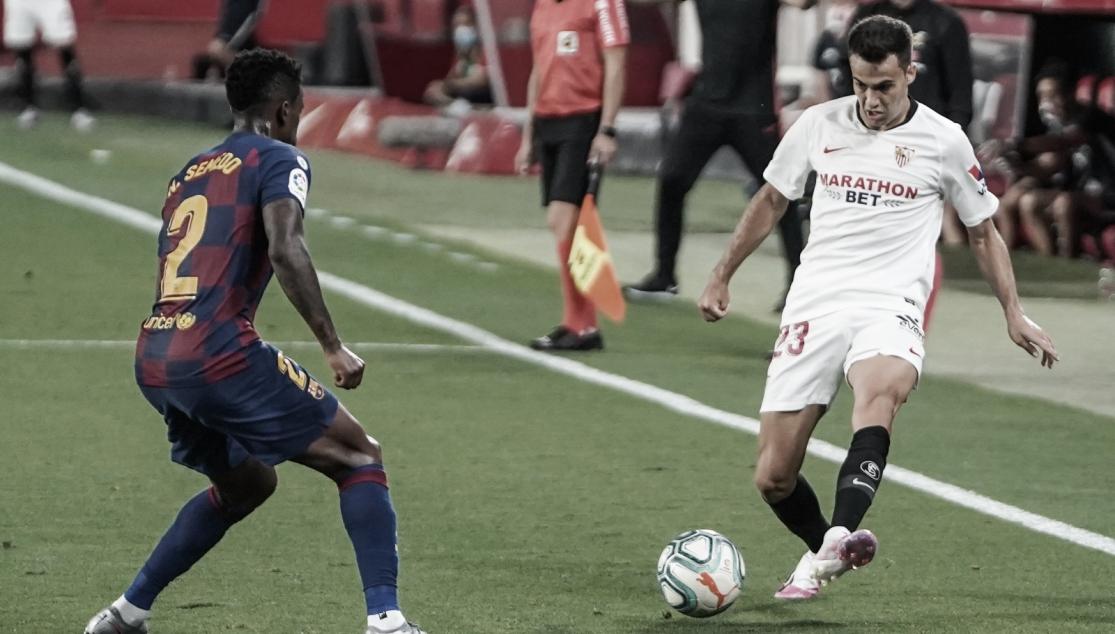 """Sergio Reguilón: """"Hay que hacer bueno el punto la próxima jornada"""""""
