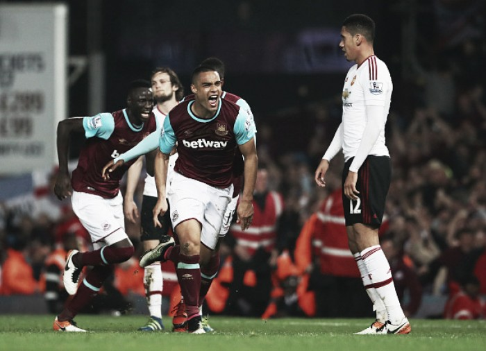 West Ham United 3-2 Manchester United: Hammers severely dent Red Devils' top-four hopes in Boleyn farewell thriller