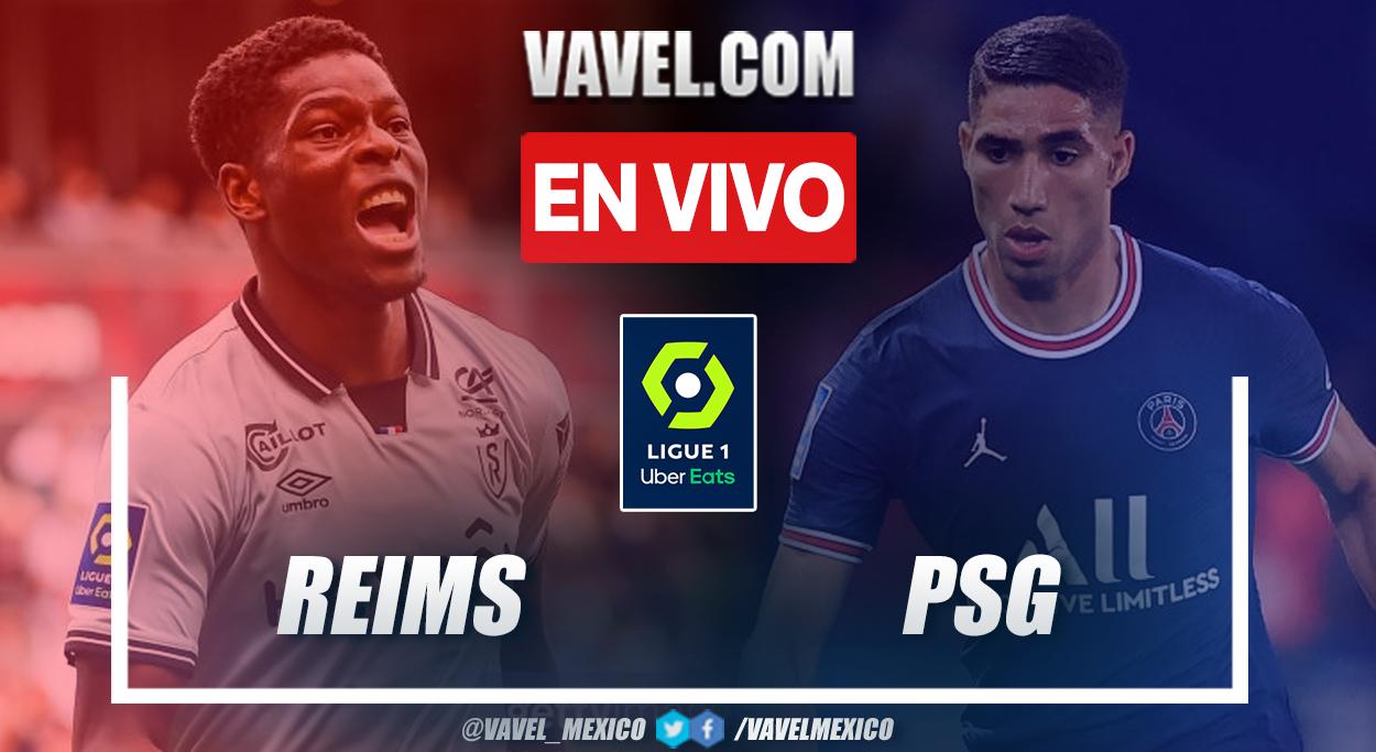 Resumen y goles: Reims 0-2 PSG en la fecha 4 por Ligue 1 2021-22