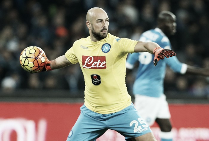 Pepe Reina 'satisfied' with Napoli's start