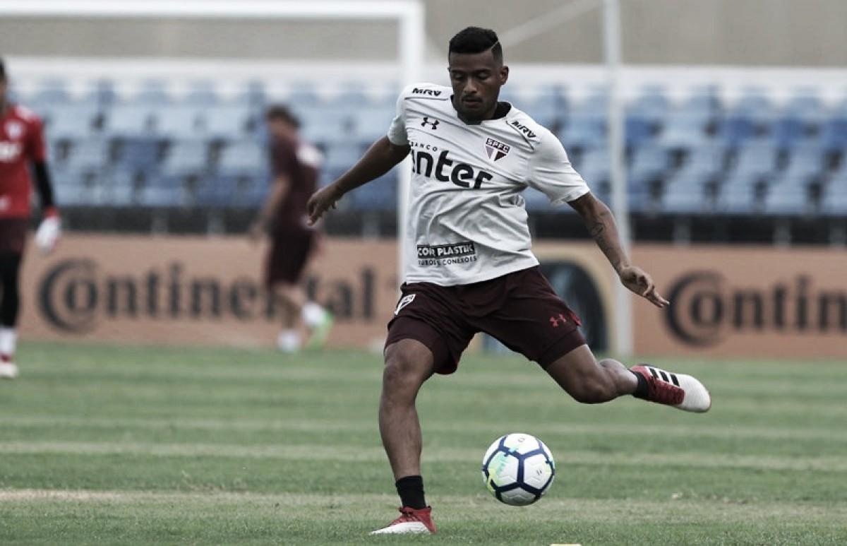 São Paulo aproveita brechas defensivas, supera CRB e consegue ótima vantagem