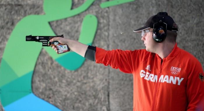 Rio 2016, pistola 25m: Reitz oro, Mazzetti sesto
