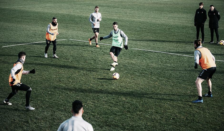 El Real Valladolid prepara ya la semana ante el Atlético de Madrid
