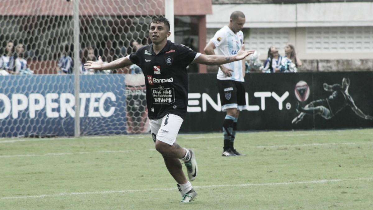 Em jogo de duas expulsões, Remo é mais eficaz e bate Paysandu pelo placar mínimo