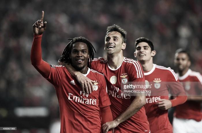 Benfica em alta na Europa: Renato Sanches e Jonas na equipa ideal da Liga dos Campeões